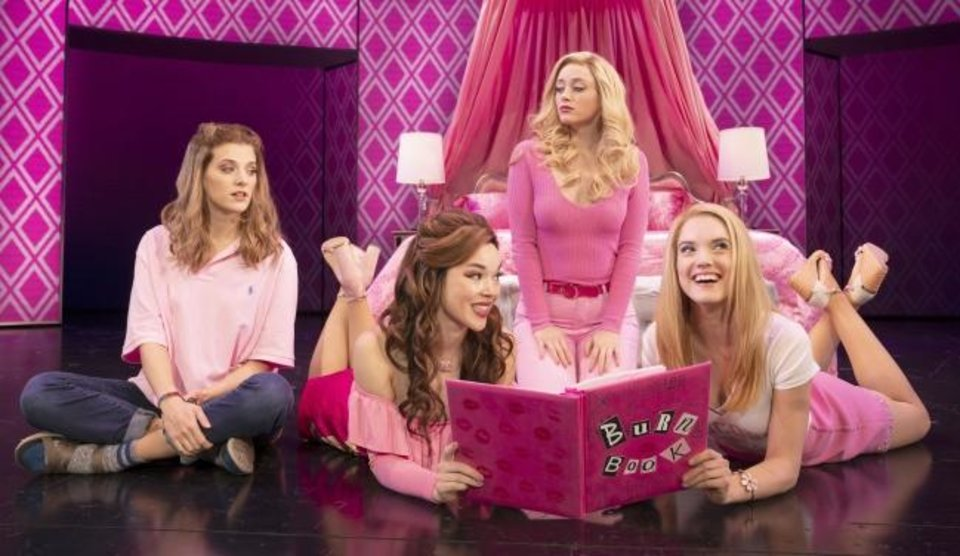 Photo -  From left, Danielle Wade, Megan Masako Haley, Mariah Rose Faith and Jonalyn Saxer star in the national touring company of