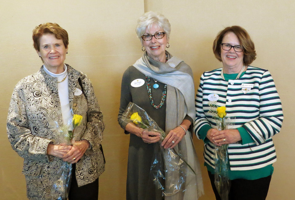 Photo - Phyllis Laws, Kaye Rhoades, Susan Hensley. PHOTO PROVIDED