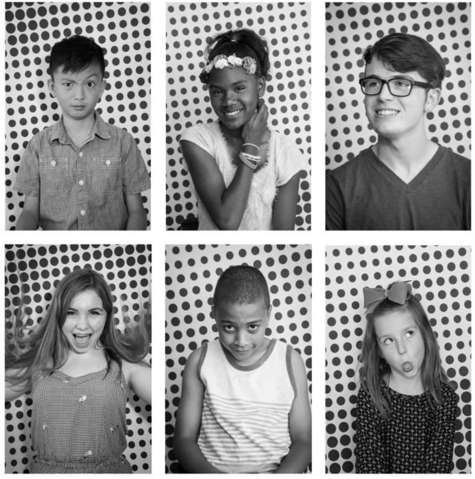 Photo - To raise awareness of Oklahoma's low ranking for public education funding, a group of state artists are launching Faces of the 47th, a large-scale art installation that will go up this month in five Oklahoma cities. Image provided
