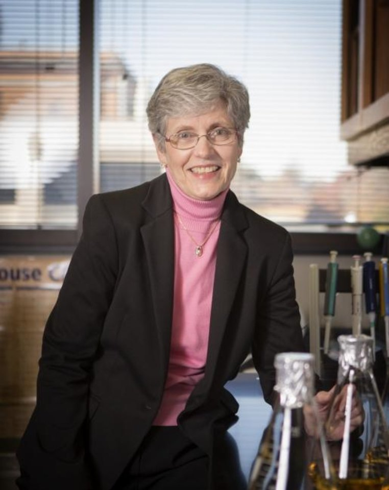 Photo -  Oklahoma Medical Research Foundation scientist Linda Thompson, Ph.D.