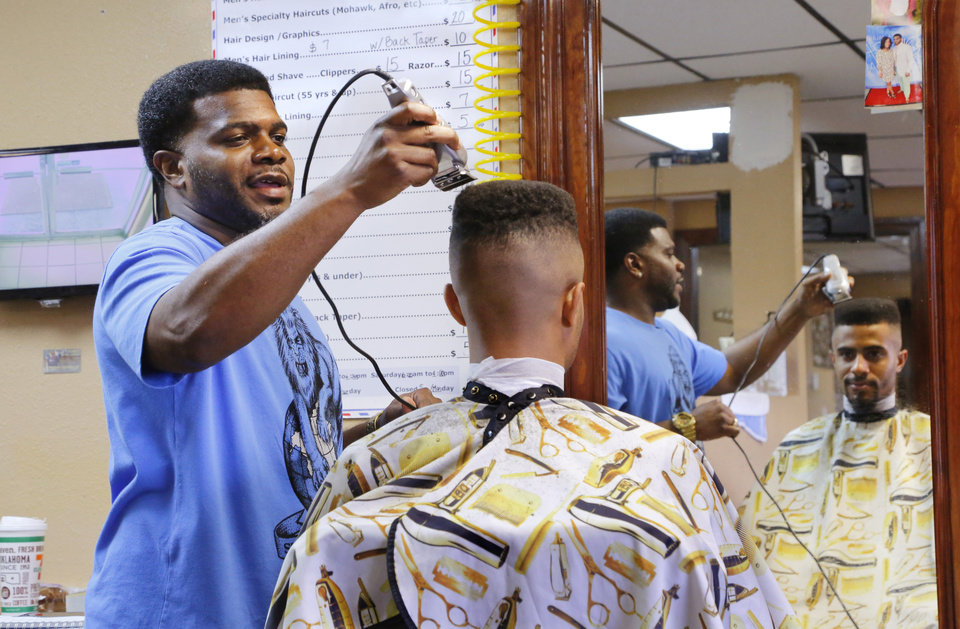 Why Duce Talley Is Making Star Spencer Better One Haircut At A Time