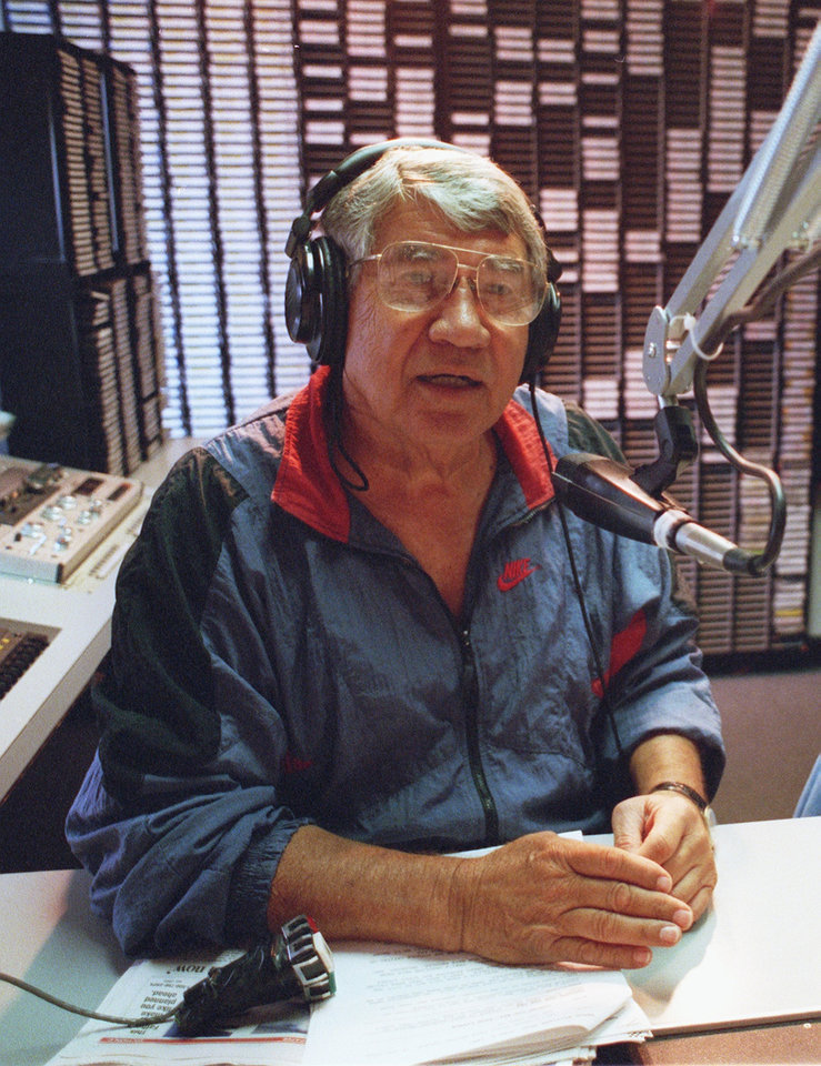 Photo - Danny Williams hits the radio airwaves every morning as a member of the KOMA