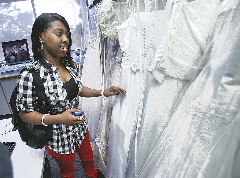 Moore Norman Technology Center class project fulfills dress wishes