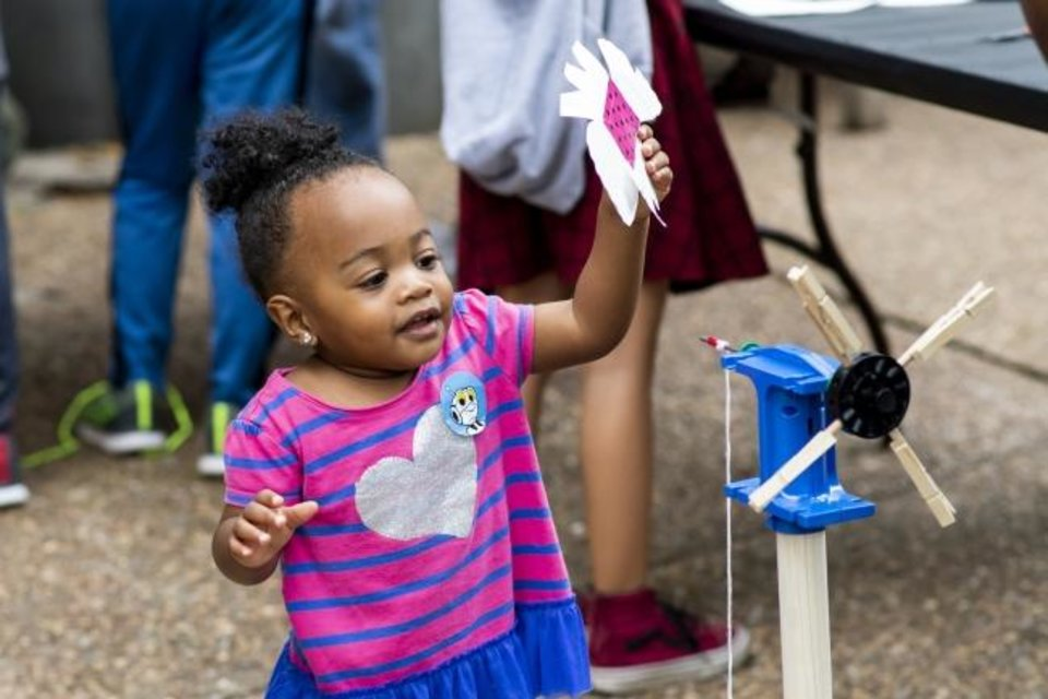 Photo -  Children will be able to explore during Saturday's outdoor Tinker in the Parks event. [PHOTO PROVIDED]