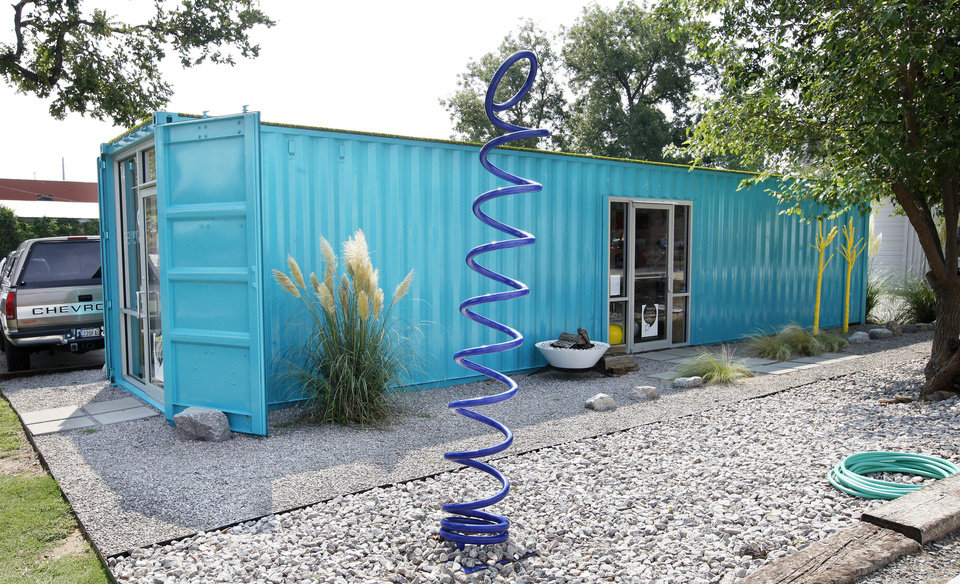 Shipping containers offer Oklahoma City building alternative