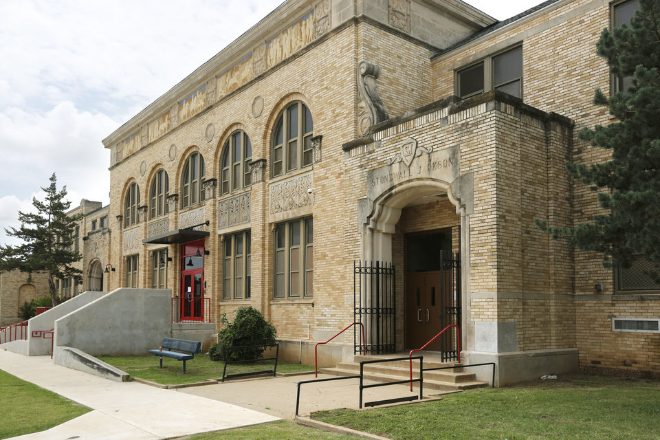 Photo -  Jackson Elementary is one of four schools in the Oklahoma City district named after Confederate generals. [Photo by Paul Hellstern, The Oklahoman]