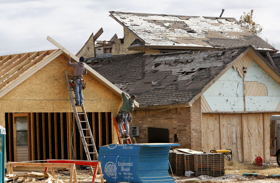 Months after may tornadoes oklahoma contractors struggle for Loan to build a house on land