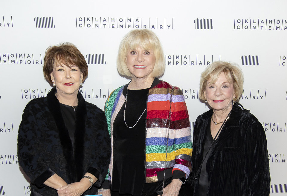 Photo - Ann Johnstone, Judy Love, Joan Maguire. PHOTO BY AARON GILLILAND