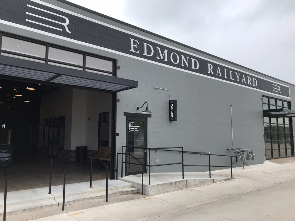 Photo - Edmond Railyard has reopened. [Dave Cathey/The Oklahoman]