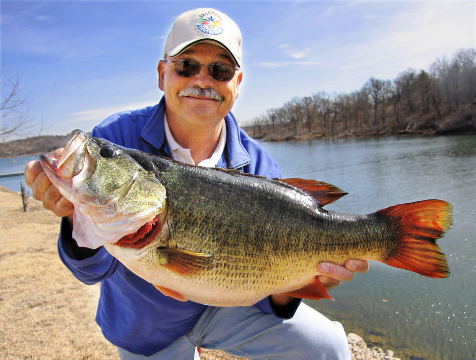 Lake of the arbuckles is best for bass in the state news ok for Bass fishing tournaments in florida