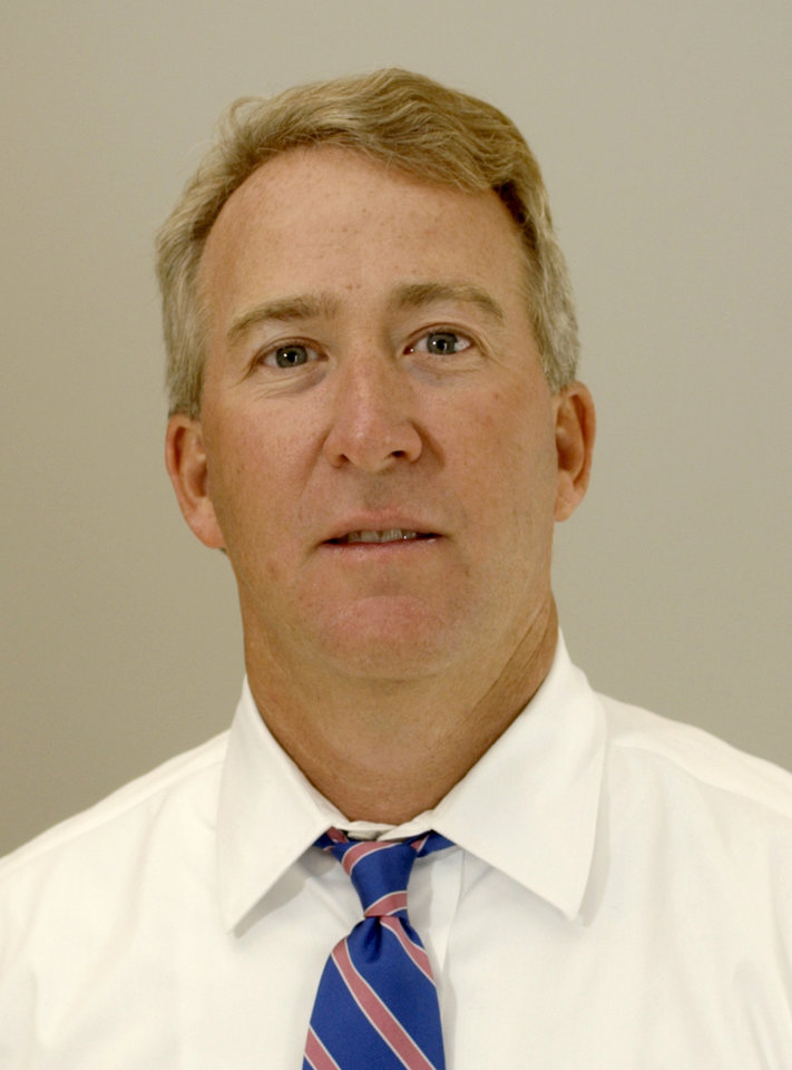 Photo - Aubrey McClendon: chairman, chief executive and director of Chesapeake Energy Corp., 6100 North Western Ave. Staff photo by Nate Billings.