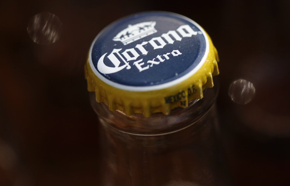 Photo -  Corona beer, a Constellation Brands Inc. product, is seen in Marysville, Pa. [AP photo]