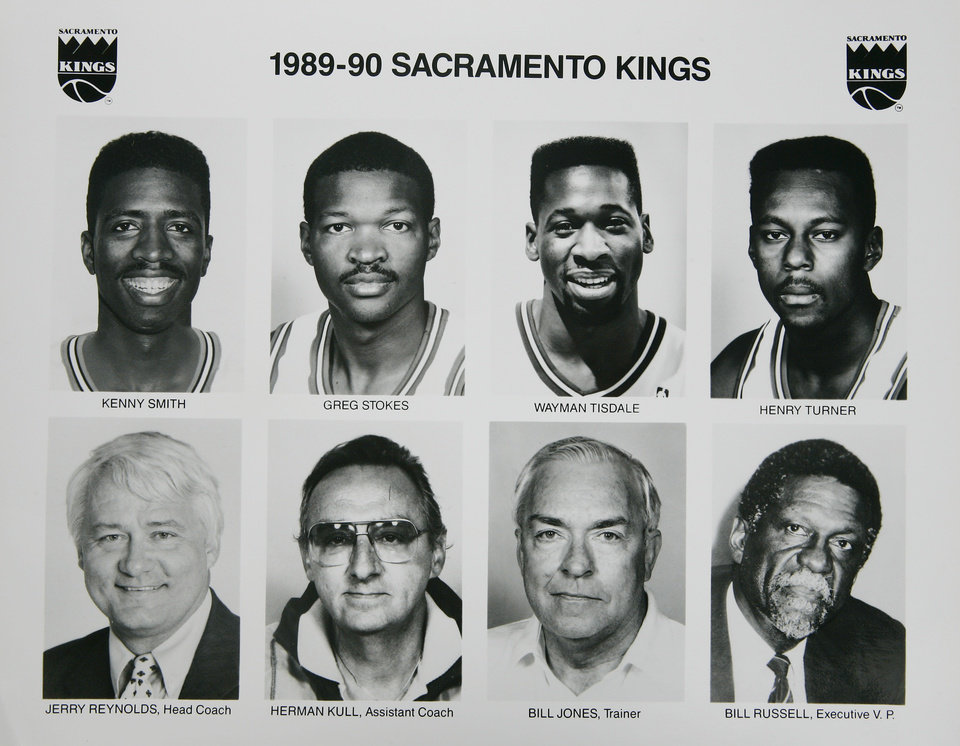 Photo - Former OU basketball player Wayman Tisdale. Wayma Tisdale with the 1989-1990 Sacramento Kings. Photo taken unknown, Photo published unknown. ORG XMIT: KOD