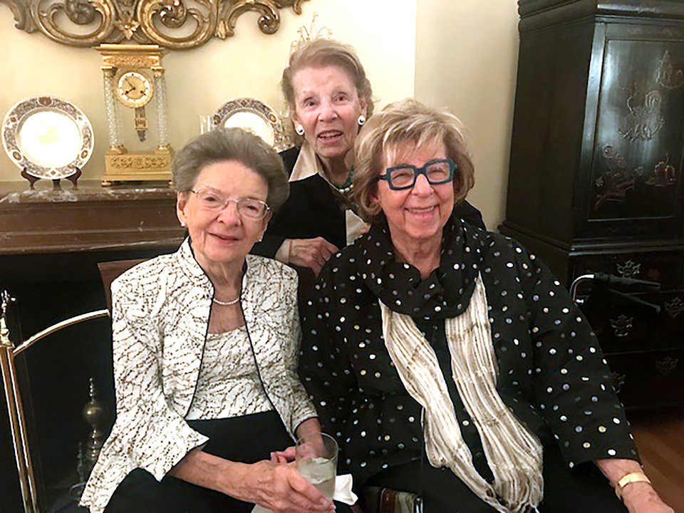Photo - Virginia Eason Weinmann, Patricia Lester, Jeanne Hoffman Smith. PROVIDED PHOTO