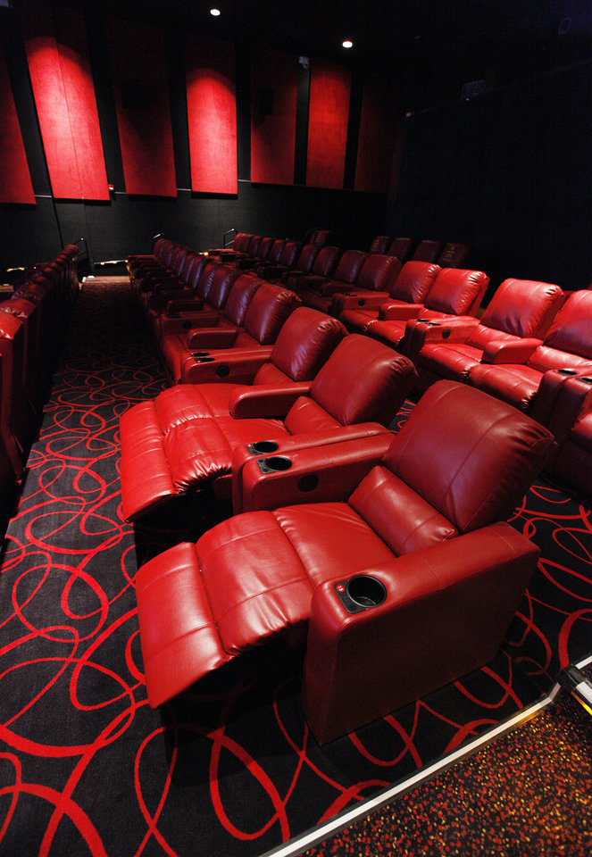 All auditoriums at the AMC theater at Penn Square Mall feature new power reclining chairs. PAUL B. SOUTHERLAND - PAUL B. SOUTHERLAND ... & Theater upgrades in Oklahoma City include comfy power recliners ... islam-shia.org