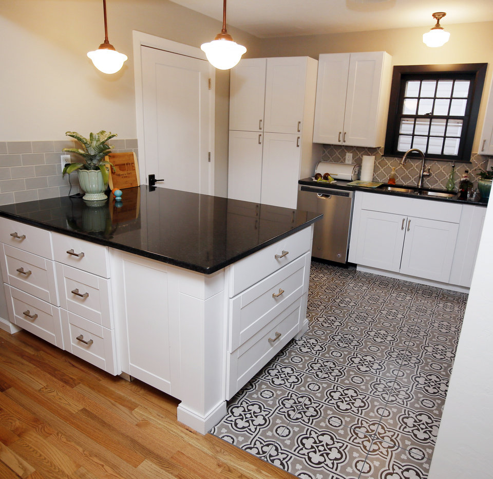 Remodeled space for aging in place news ok for Deborah s kitchen
