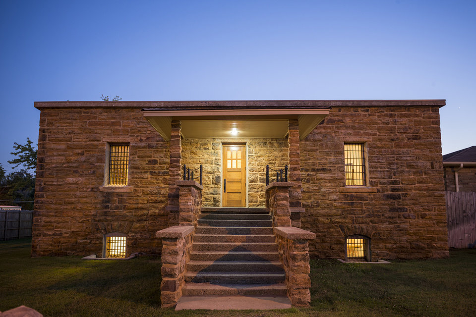 Photo -  The 1875 Cherokee National Prison, now a museum, in Tahlequah. [PHOTO PROVIDED BY CHEROKEE NATION]