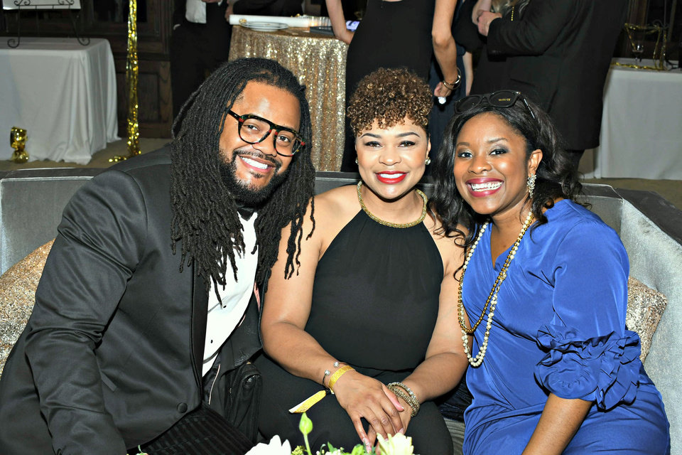Photo - Scott Williams, LaKendria Williams, and Regina Banks. PHOTO PROVIDED