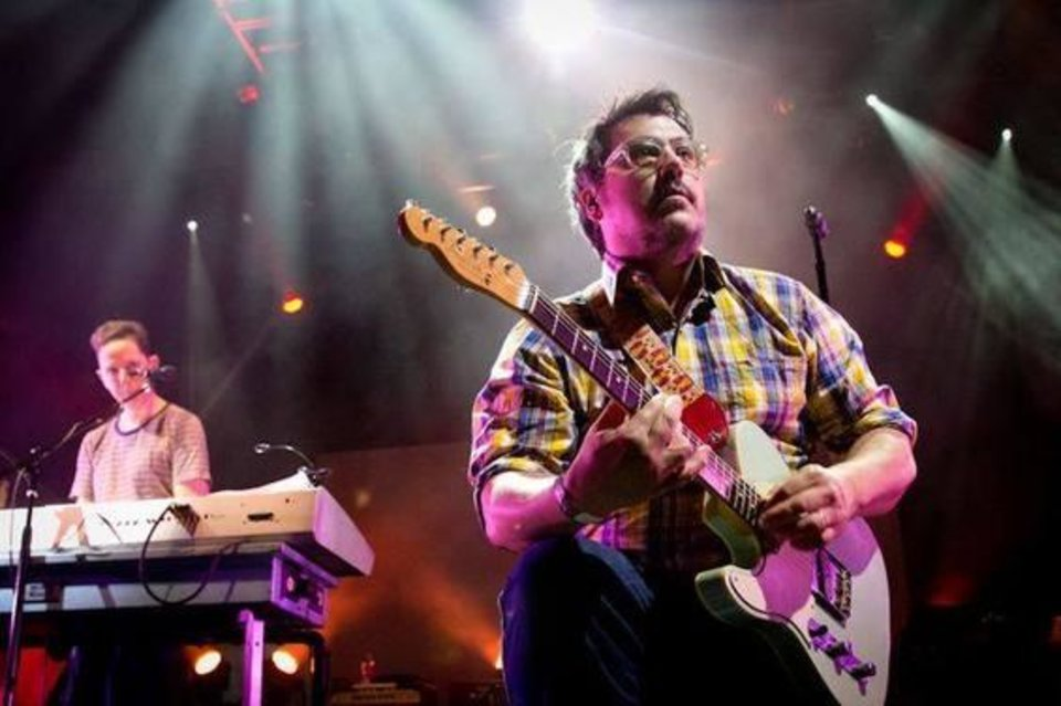 Photo -   John Linnell, left, and John Flansburgh are They Might Be Giants. Photo provided