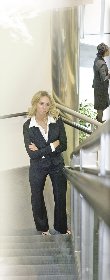 Photo - Female executive in the workplace
