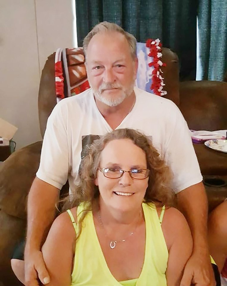 Photo -  Ronald Everett Wilkson, 55, and his wife, Valerie Kay Wilkson, 54, were identified as homicide victims in a crime spree that began Sunday. Authorities have accused Michael Dale Vance Jr., 38, in the deaths. Vance is the son of Kay Wilkson's cousin, a family member said. Relatives described Ronnie and Kay Wilkson as loving parents, hardworking people and incredible grandparents. [Photo provided]