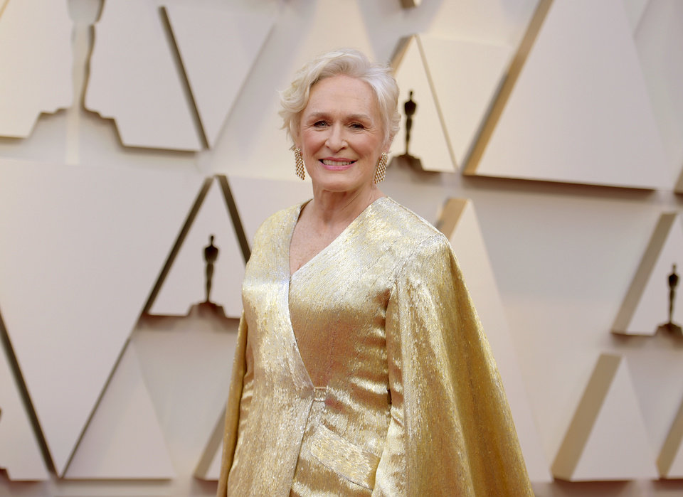 Photo -  Glenn Close arrives at the Oscars on Sunday, Feb. 24, 2019, at the Dolby Theatre in Los Angeles. (Photo by Richard Shotwell/Invision/AP)