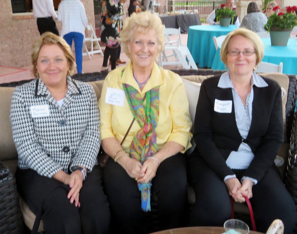 Photo - Marion Burcham, Renee O'Donnell and Margaret Biggs.PHOTO PROVIDED