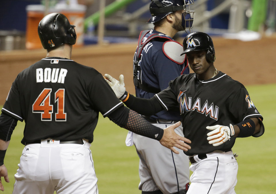 Image result for justin bour and adeiny hechavarria