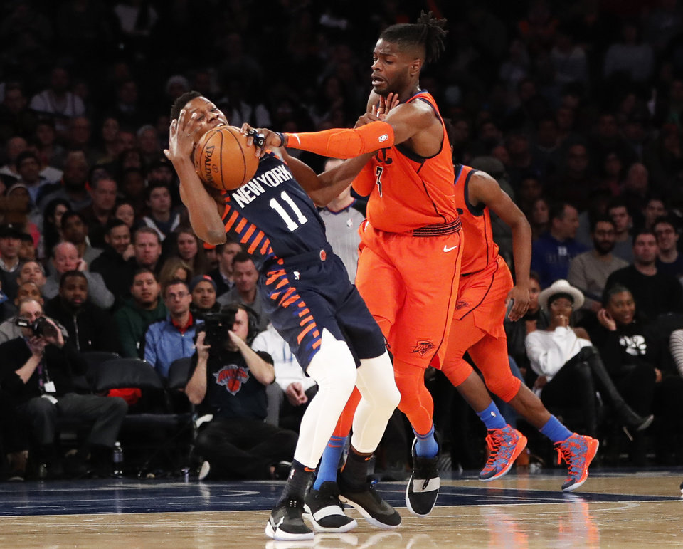 Nba Basketball New York Knicks: Observational Nuggets From The Thunder's 127-109 Win Against The Knicks