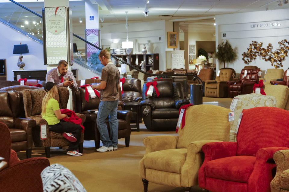 Great ... Photo   Customers Shop The Showroom At Mathis Brothers Furniture On  Friday, Nov. 8