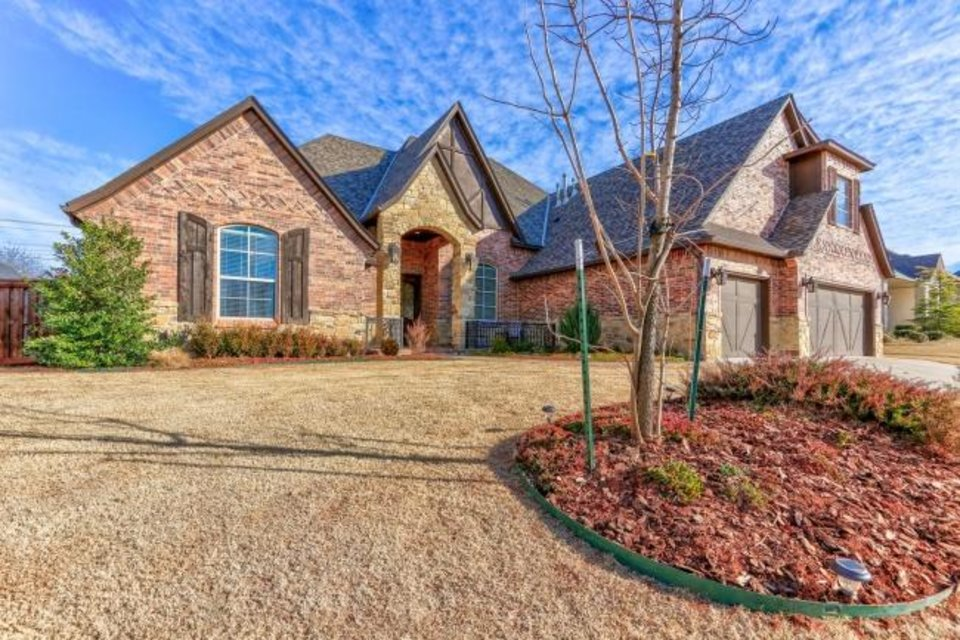 Photo -  Kirsten McIntyre, an agent with Keller Williams Central Oklahoma, has this five-bed, five-bath home at 4700 Stampede Drive in Edmond listed for $565,000. All but entry-level houses are starting to linger on the market with the coronavirus. [PHOTO PROVIDED]