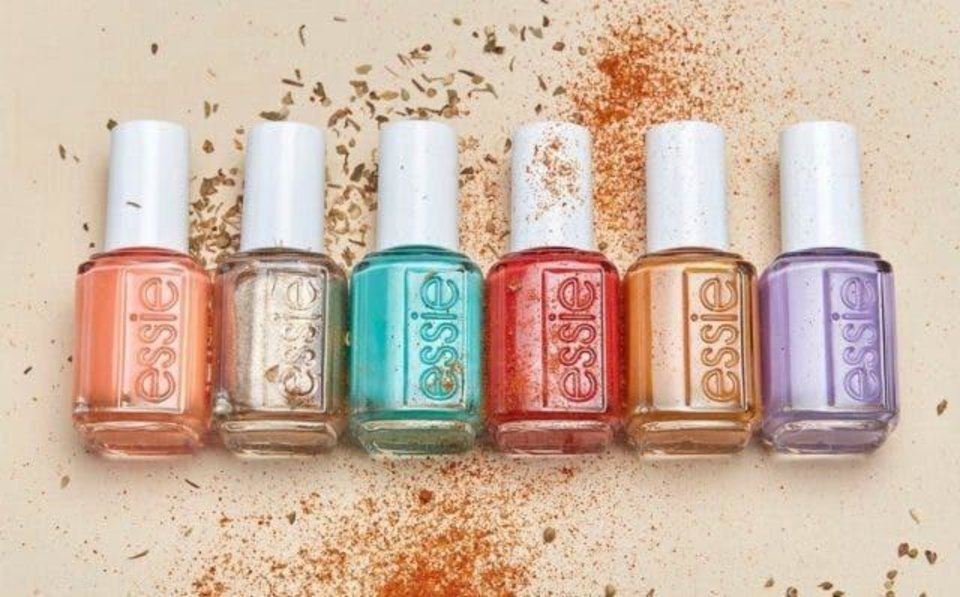 Photo - Essie's summer 2020 collection of nail polishes.