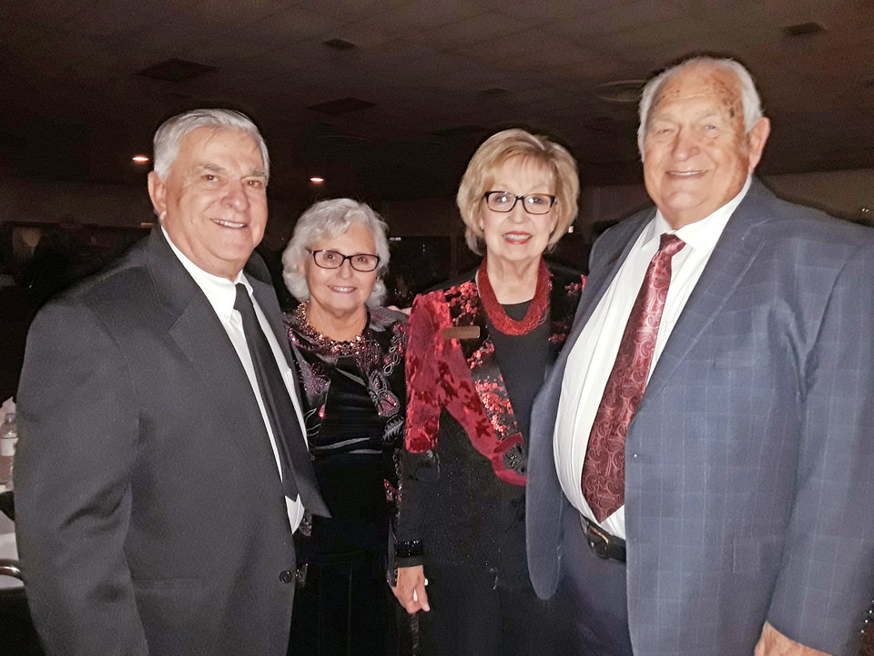 Photo - Larry and Thelma Theriot, Jo Pelphrey, Don Finley. PHOTO PROVIDED
