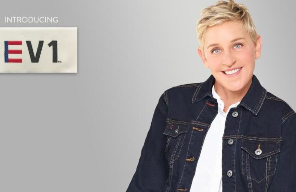 Photo - Talk show host Ellen DeGeneres is launching her new EV1 fashion collection at Walmart and on walmart.com.