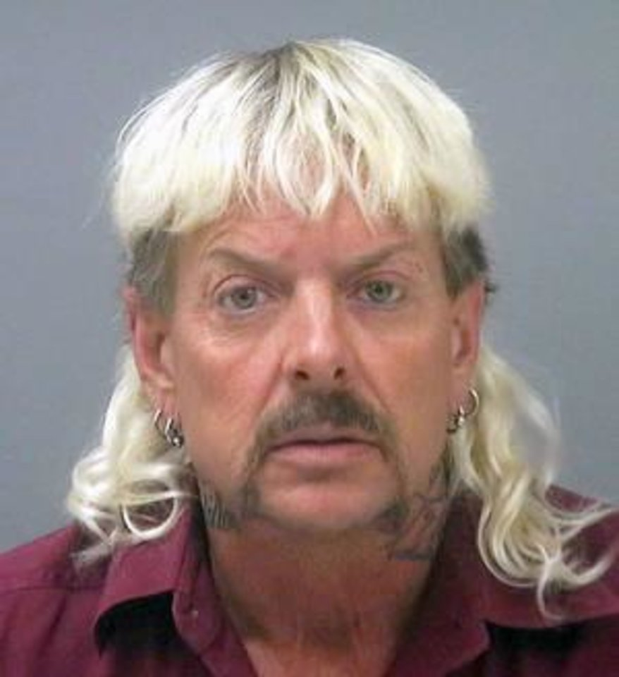 Photo -  Joe Exotic, shown after arrest in Florida