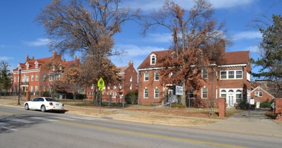 Photo -  A view of Villa Teresa Historic District is shown in Oklahoma City. [PHOTO PROVIDED BY STATE HISTORIC PRESERVATION OFFICE]