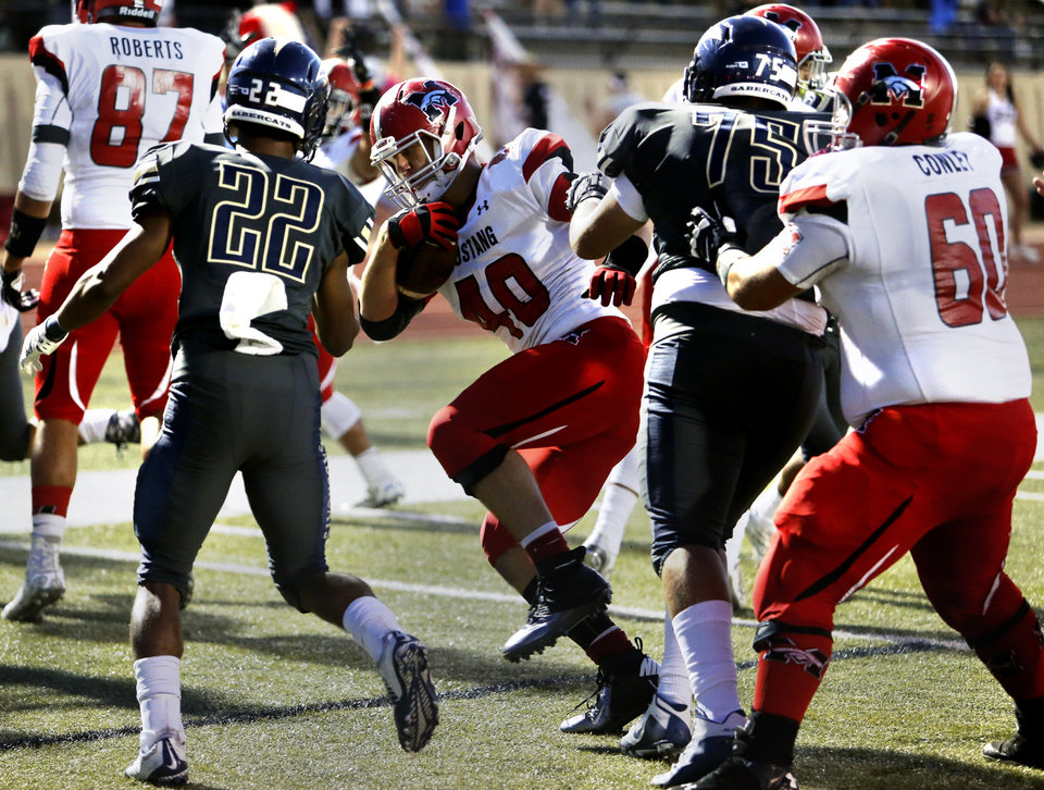 High School Football Southmoore Defense Stifles Mustang In Rout News Ok