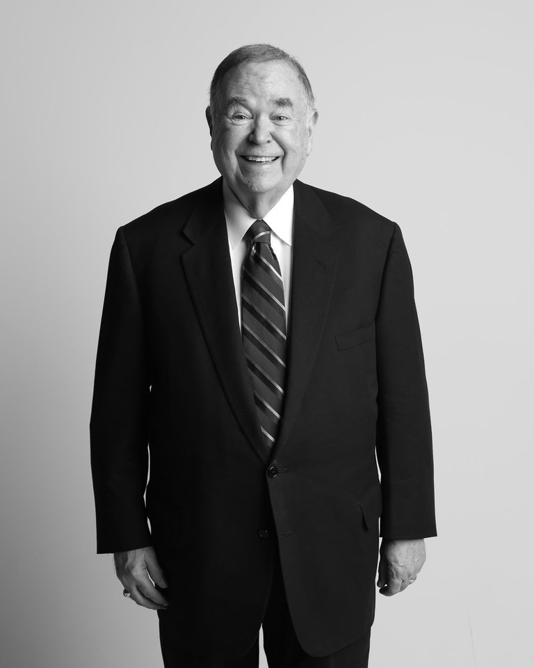 Photo - THE OKLAHOMAN VIDEO SERIES   David Boren, former Senator and Governor, University of Oklahoma President, Tuesday, February 16, 2016. Photo by Doug Hoke, The Oklahoman