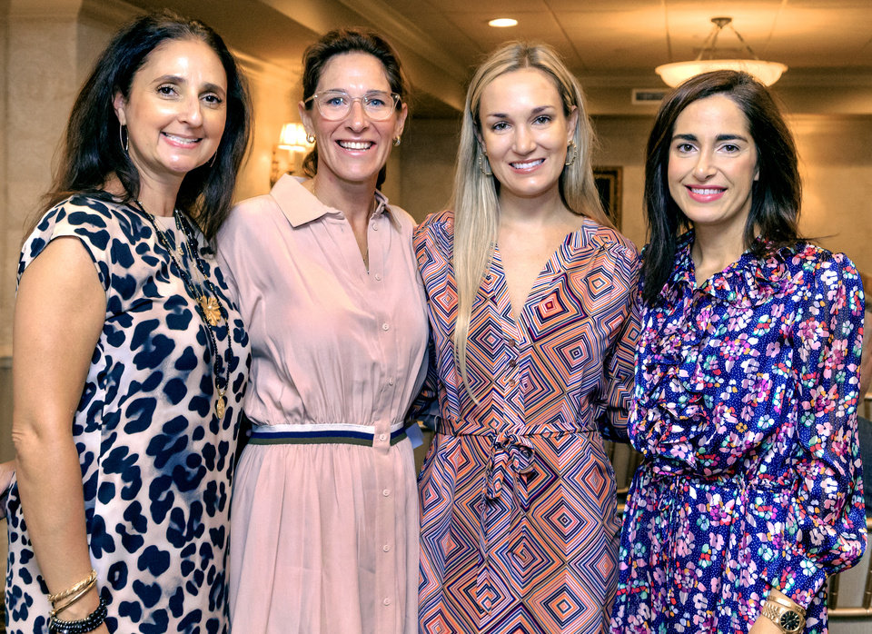 Photo - Debbie Trachtenberg, Lauren Sullivan, Leigh Bentley, Elizabeth Haggard. PHOTO BY CHRIS LANDSBERGER, THE OKLAHOMAN