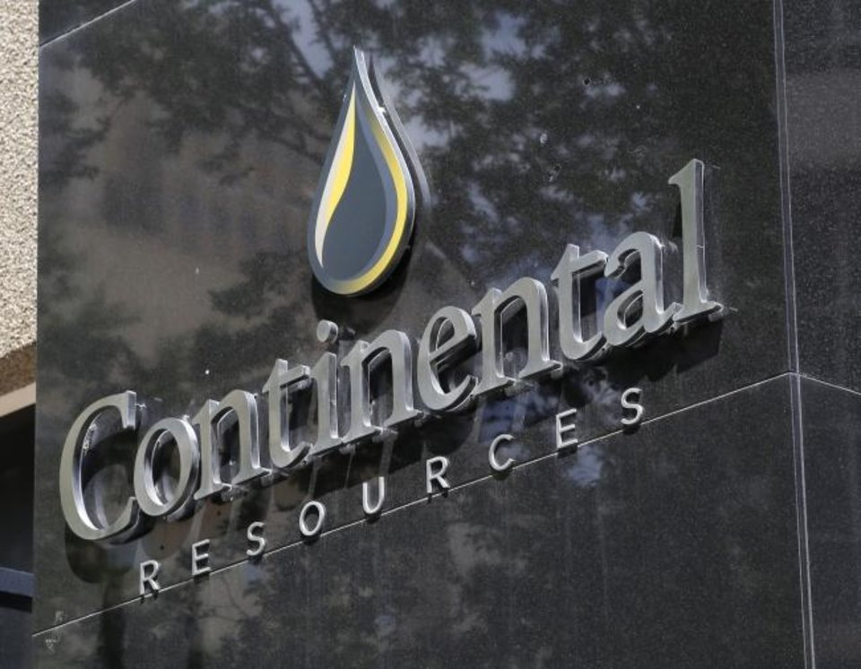 Photo -  Continental Resources' headquarters in downtown Oklahoma City. [THE OKLAHOMAN ARCHIVES]