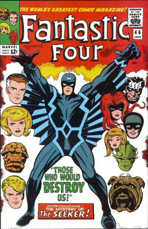 Photo -  Black Bolt and the Inhumans are featured in