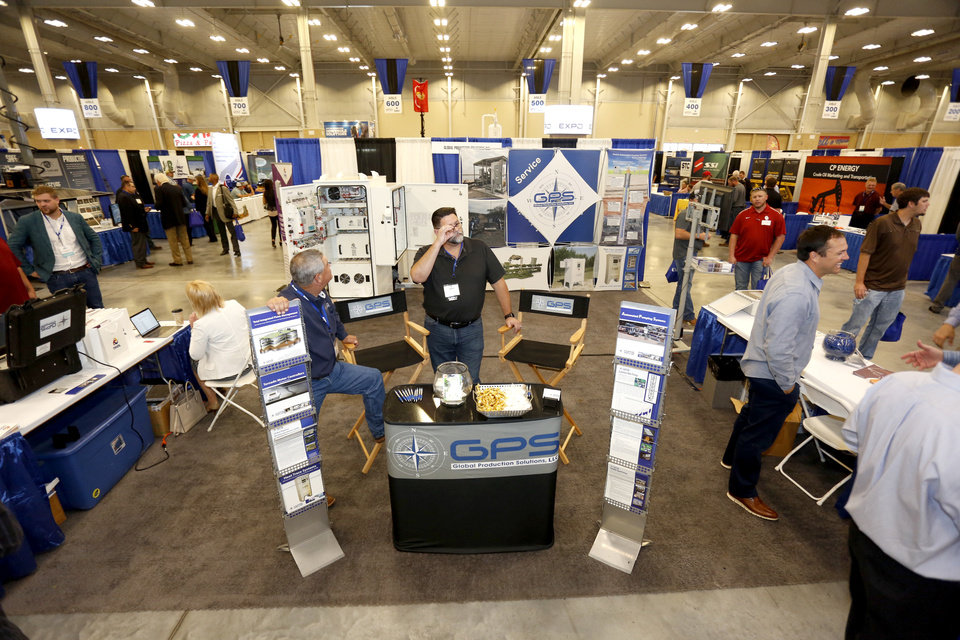 Photo -  The Oklahoma Oil & Gas Expo at the Bennett Event Center at Oklahoma State Fair Park drew record numbers of exhibitors and participants in 2017, Oklahoma Energy Resources Board officials said.