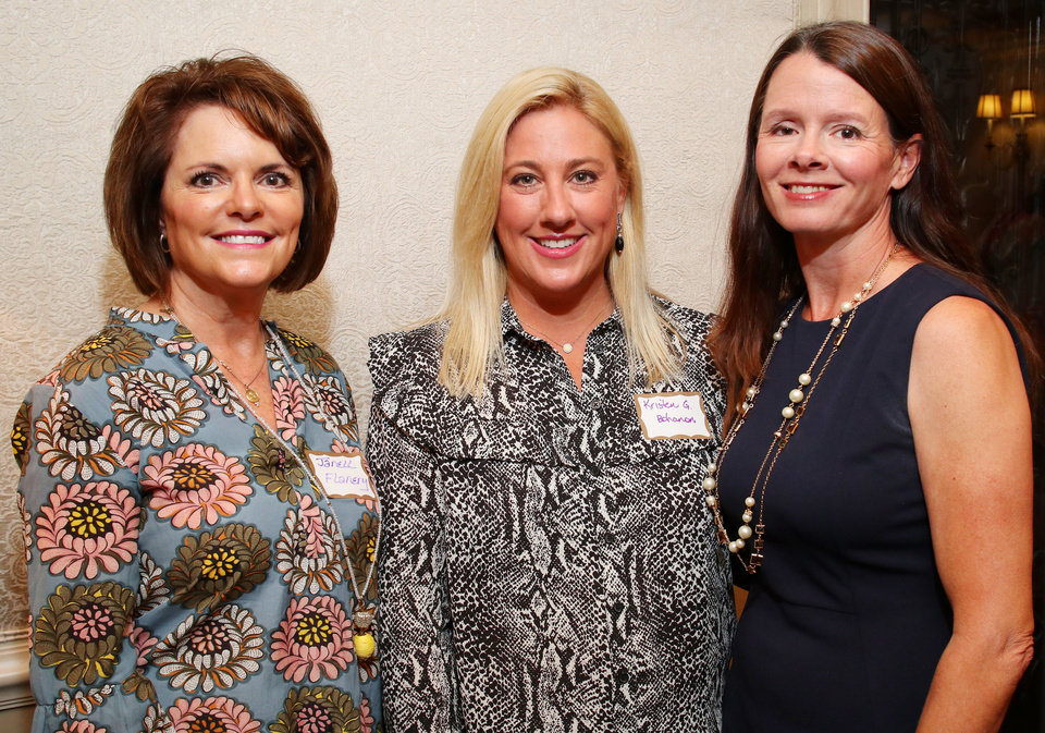 Photo - Janell Flanery, Kristen G. Bohanon, Anne Richmond. PHOTO BY DOUG HOKE, THE OKLAHOMAN