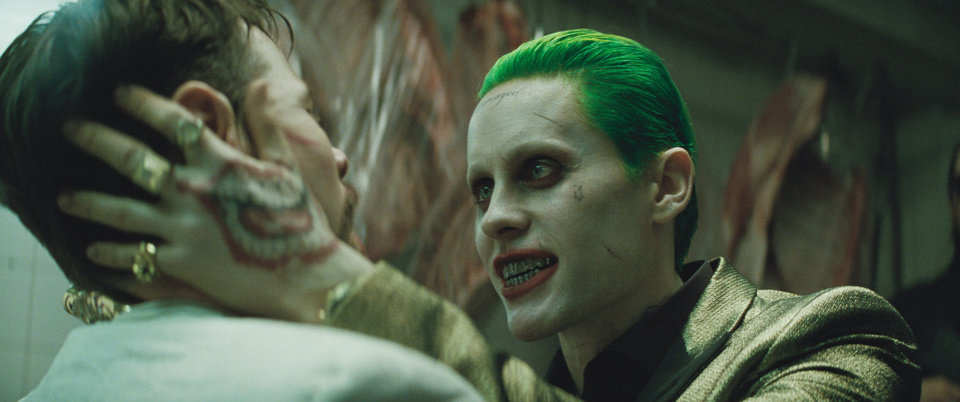 Photo -  Jared Leto as The Joker in Warner Bros. Pictures' action adventure