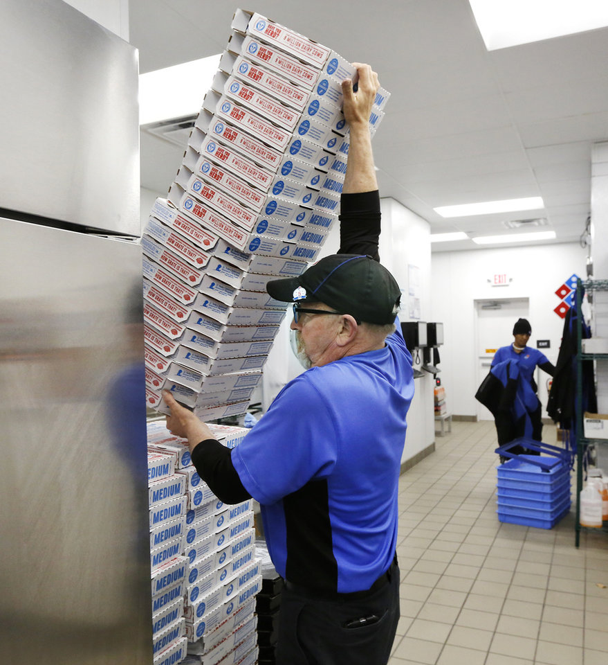 Domino's Pizza implements new features, young leadership