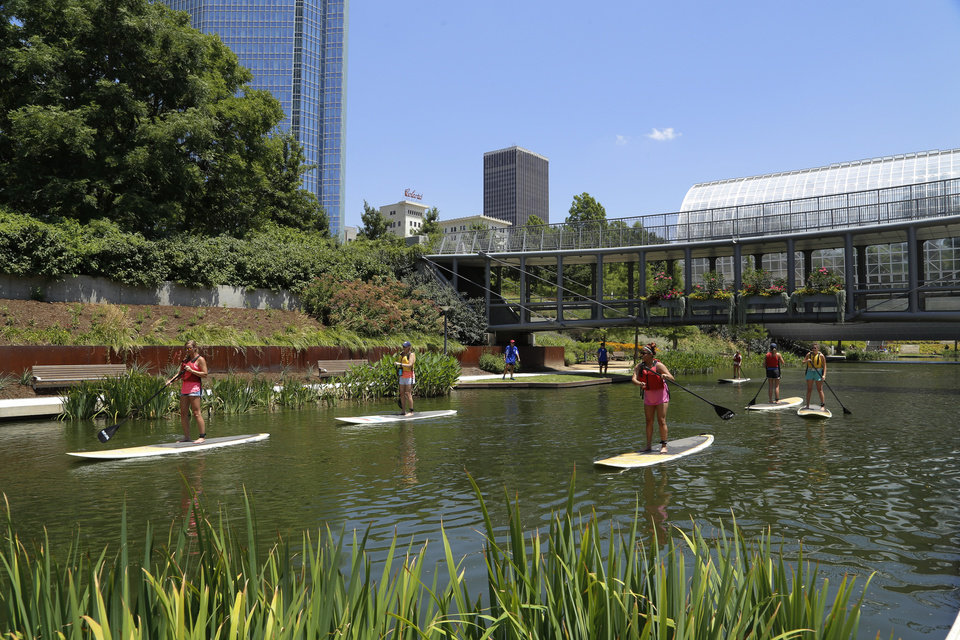 Oklahoma City 39 S Myriad Gardens Wins Global Competition