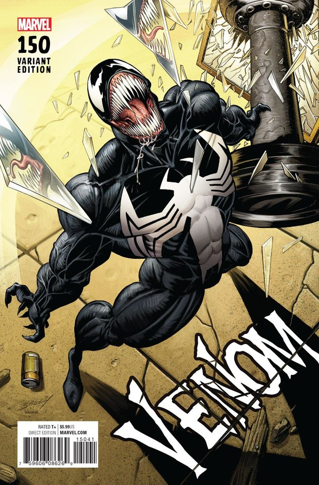 Photo -  A Mark Bagley variant cover for