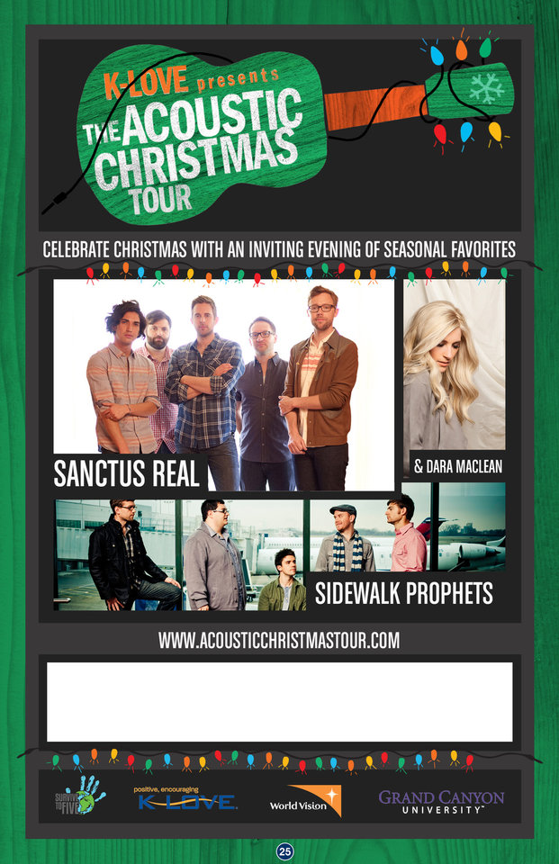Sidewalk Prophets bringing music of Christmas to metro