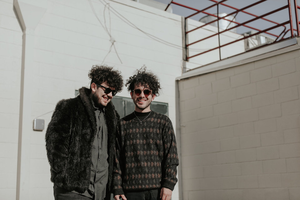 Photo -  Smokey Motel is brothers Isaiah Carter, left, and Steven Carter. The duo formed roughly a year ago and has released their its single under the new moniker. [Photo provided by Betsy Dutcher]