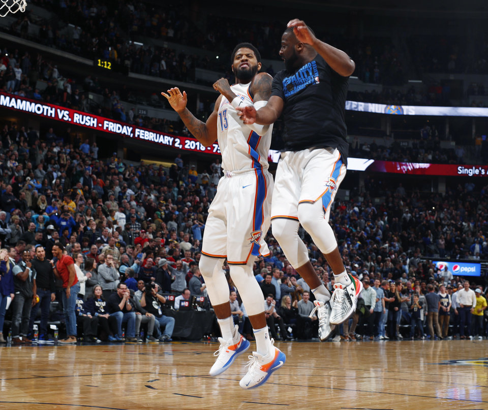 Harris Hits 3 At Buzzer, Nuggets Beat Thunder 127-124